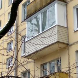 Остекление балкона в сталинке - цены на остекление лоджии ст.